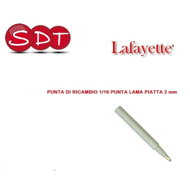 PUNTA RICAMBIO 0,4mm PER STAZIONI SSD-17 SSD-12 37.ZD917 37.88415N42