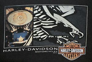 OFFICIAL-HARLEY-DAVIDSON-MOTORCYCLES-PAWTUCKET-RI-T-SHIRT-XL-BLACK