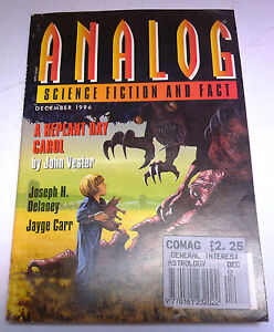 Analog Science Fiction and Fact US Magazine  December 1996 - <span itemprop='availableAtOrFrom'>Tadworth, Surrey, United Kingdom</span> - Analog Science Fiction and Fact US Magazine  December 1996 - Tadworth, Surrey, United Kingdom