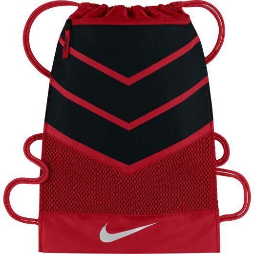 bf38200c66 Nike Alpha ADAPT Gym Bag Sack Red Black Drawstring Ba5250-657 Gymsack Book  for sale online