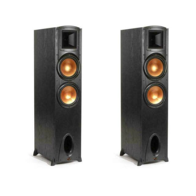 2 Avl One Klipsch Synergy F-2 Black Tower Speaker Floor Standing Speaker F2