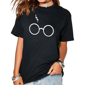 7479ce9a2 Details about New Harry Potter T-shirt Lightning Glasses TeeS Tops Super  Soft unisex Shirts UK