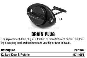 Vide-cale-Jet-ski-Sea-Doo-Polaris-HOTPRODUCTS-57-4058-WSM-011-158-Drain-Plug