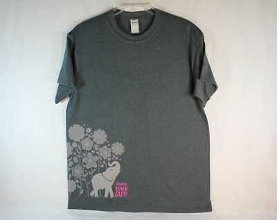 """Girl Scouts 2018 Cookie Incentive T-Shirt """"Stand up STAND OUT!"""" XLarge NEW"""