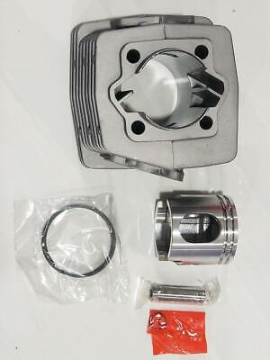 SHORT intake cylinder silver with piston /& rings 80cc 66cc motor engine parts