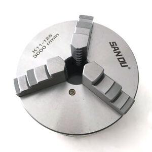 Mandrino-Autocentrante-di-Precisione-per-Tornio-125-mm-3-3-Griffe-Chiave