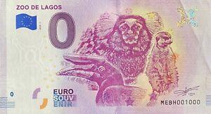 BILLET-0-EURO-ZOO-DE-LAGOS-PORTUGAL-2018-NUMERO-1000