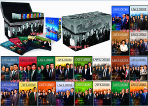 Law & Order: The Complete Series Seasons 1-20 (DVD, 2011) 104 Disc US Seller New
