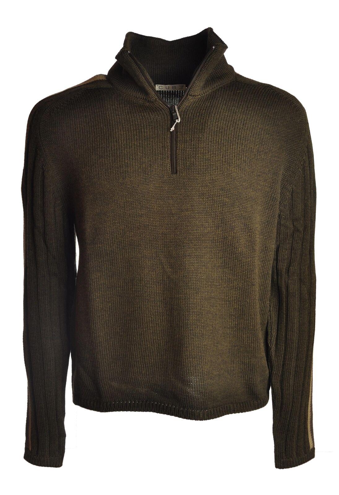 Cube  -  Sweaters - Male - Green - 4366811L173305