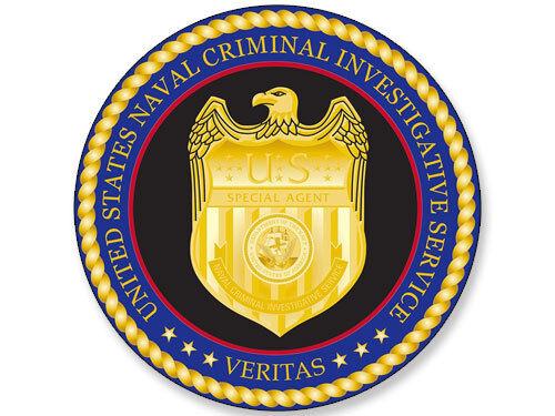 U.S NCIS Naval Criminal Investigative Service Logo Decals Stickers