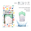 thumbnail 22 - 4Teeth Baby Teething Mitten Premium Soft Silicone Toy in Gift Box BLUE,PINK