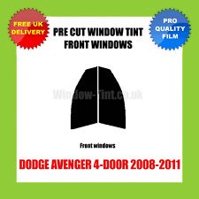 DODGE AVENGER 4-DOOR 2008-2011 FRONT PRE CUT WINDOW TINT KIT