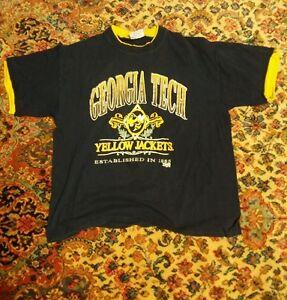 000-Vintage-Georgia-Tech-Yellow-Jackets-Team-Edition-Shirt-100-Cotton-XL-1885