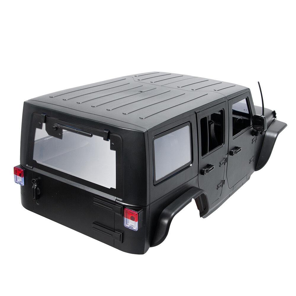 CARCASA de coche de plástico duro caso de cuerpo para 1 10 Radio Control SCX10 AX90046 TRX4 distancia entre ejes 313mm