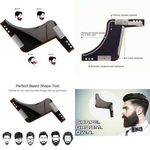2-pack-Beard-Styling-And-Shaping-Bro-Comb-Shaper-Stencil-Shaving-Template-Tool