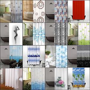 ALTO Designs Tenda doccia in tessuto 120x200 cm marrone crema BIANCO ...