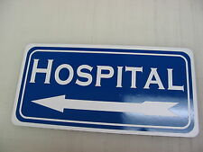 LIBRARY Metal Sign 4 Hospital Home Store Pharmacy School Old West Texas Town
