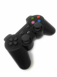 Joystick-Joypad-PS3-Wireless-Controller-Senza-Fili-Gamepad-Nero
