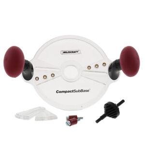 Milescraft-Compactsubbase-8in-L-x-8in-W-Policarbonato-Router-Attacco-Trasparente