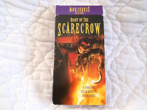 Details about NIGHT OF THE SCARECROW VHS SLASHER HORROR MURDER FEMALE  NUDITY WARLOCK REVENGE