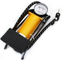 Bicycle Bike Foot Operated Tire Pump Inflator Basketball Air Mattress Ball Fast on sale