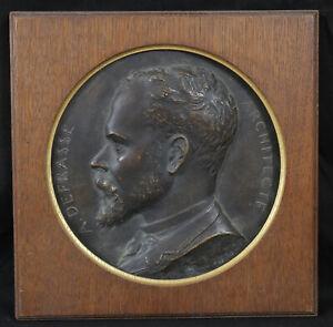 Dynamique Paul-gabriel Capellaro (1862-1956) Portrait D'alexandre Defrasse , Architecte