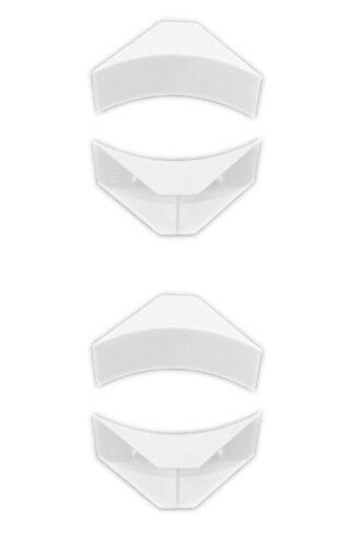 "Set of 4 RV Window Corner Blocks 2-1//2/"" Radius x 1-1//2/"" for Camper Trailer"