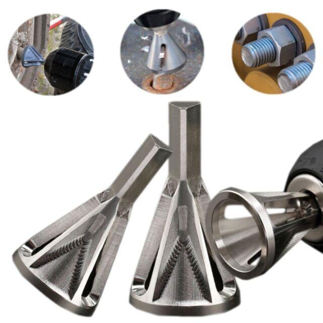 Deburring External Chamfer Tool Remove Burr CR12 MOV Drill Bits Tool 1PCS