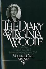 The Diary of Virginia Woolf, 1915-1919 Vol. 1 by Virginia Woolf (1979, Paperback)