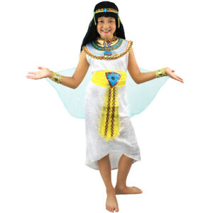 Image is loading EGYPTIAN-GIRL-COSTUME-CHILD-039-S-QUEEN-OF-  sc 1 st  eBay & EGYPTIAN GIRL COSTUME CHILDu0027S QUEEN OF THE NILE CLEOPATRA FANCY ...