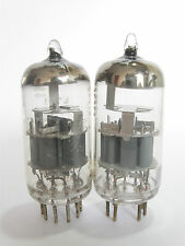 2 matched 1963-66 USA Amperex 7308 / E188CC tubes - TV7B tested STRONG