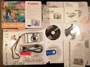 Appareil photo powerShot A95 avec boite et tous les accessoires-ne s'allume pas