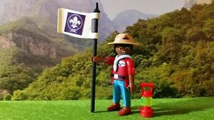 PLAYMOBIL-LOT-287-BOY-SCOUT-SCOUTISME-JAMBOREE-AVENTURE-NATURE-CAMP-BADEN-POWELL