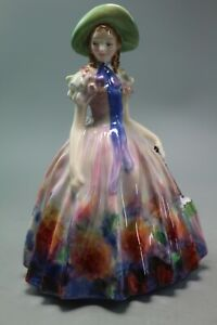 STUNNING-1950-039-S-RETIRED-ROYAL-DOULTON-FIGURINE-ENTITLED-EASTER-DAY-HN2039