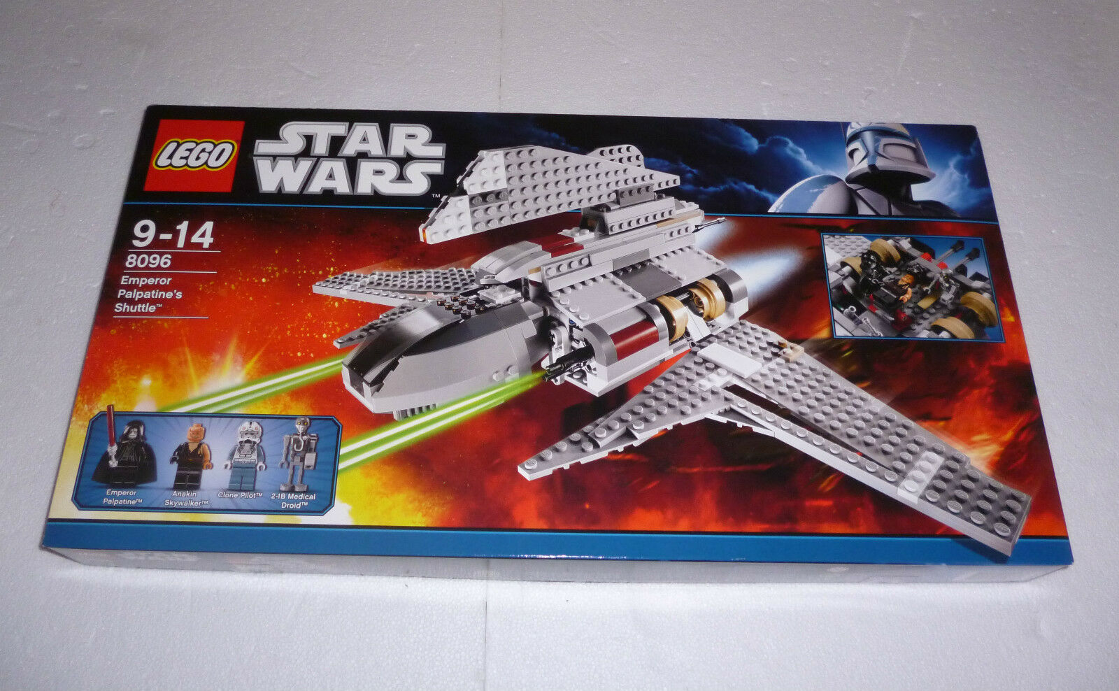 Lego StarWars Emperor Palpatine's Shuttle (8096) Neu New  OVP