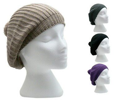 Girls Colourful Knitted Beret Beanie Hat With Pom-Pom Choice Of 4 Colours BNWT