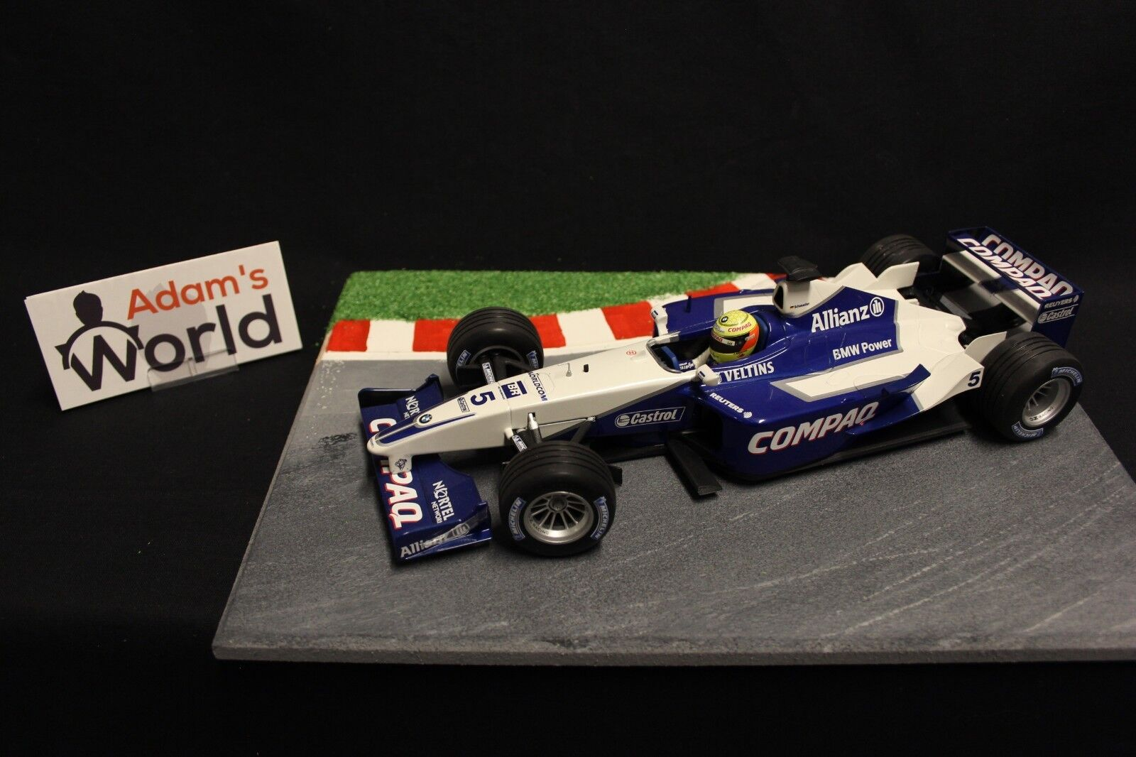 Minichamps Williams BMW FW23 2001 1:18  5 Ralf Schumacher  GER   F1NB