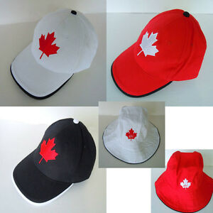 9cdf8fc1bb7 Image is loading Canada-Embossed-Country-Flag-Hat-Cap-Maple-Leaf-