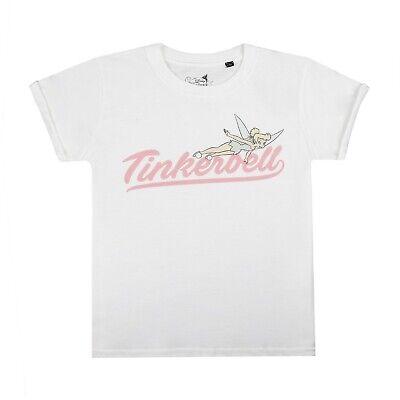Disney T-shirt White Team Tinkerbell Official Girls