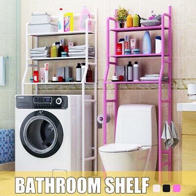 Toilet Shelf White Metal 2 Shelves superstructure Shelf Toilet Shelf Washing Machines Shelf