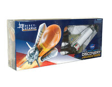Space Shuttle Discovery w/Solid Rocket Booster 1:144 Scale Model Project Cutaway