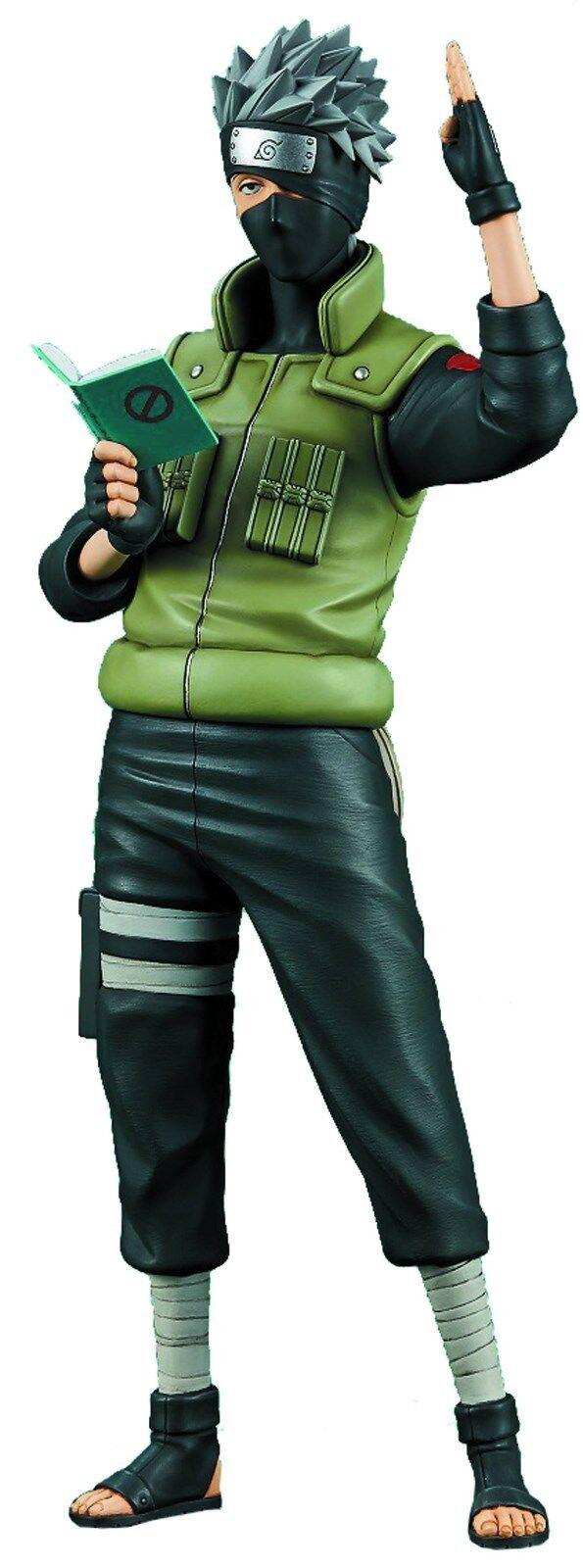 1 6 Naruto Shippuden Kakashi Hatake Figura de PVC