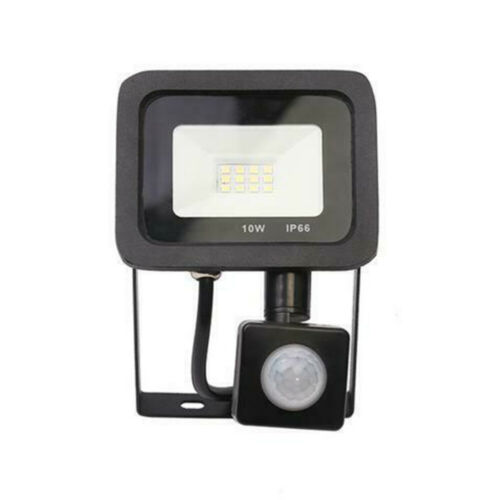 LED Floodlight PIR Sensor Motion 10//20//30//50//100W Security Flood Light 6500K