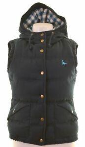JACK-WILLS-Womens-Padded-Gilet-UK-8-Small-Navy-Blue-Polyester-KO04