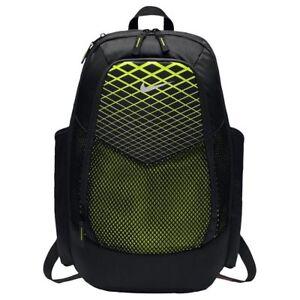 Nike Vapor Power Black   Volt Laptop Unisex Backpack Ba5479 010 for ... a915822b12940