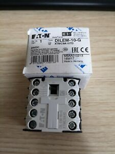 Eaton-Moeller-DILEM-10-G-DILEM10G-DC24V-Contactor-New-Free-Shipping
