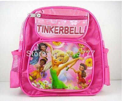Free shipping New 1 pcs TINKERBELL cartoon School Bag Children Backpack