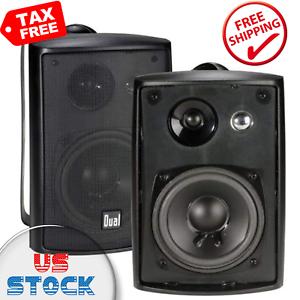 3-Way-High-Performance-Outdoor-Indoor-Speakers-Powerful-Bass-Weather-Resistance