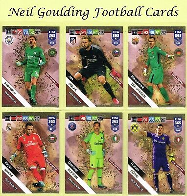 multiples FIFA 365 2019 Power-up Pick Gold Cards nº 298-396