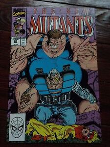 The-New-Mutants-88-April-1990-3rd-appearance-of-Cable